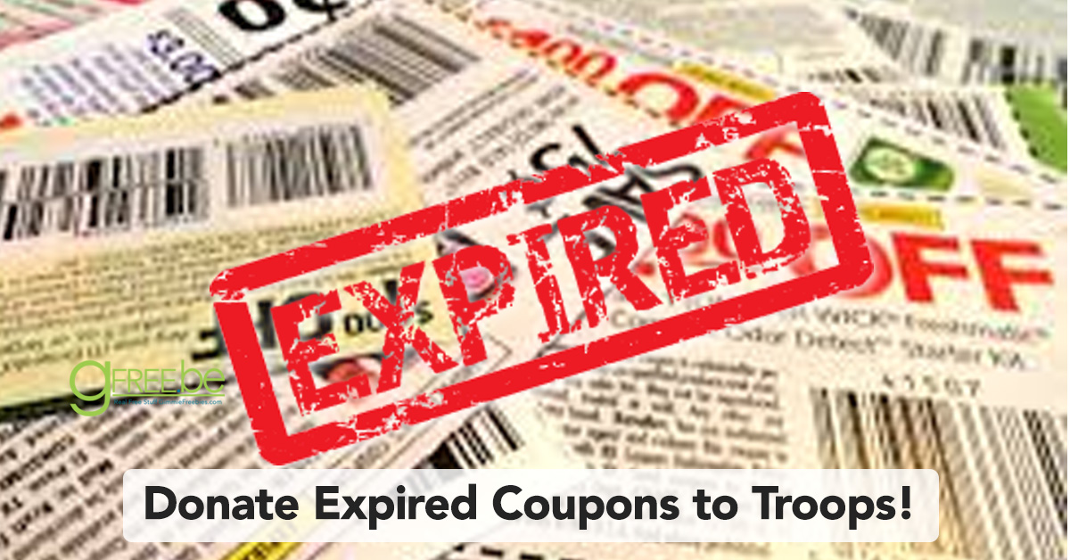 Donate Expired Coupons